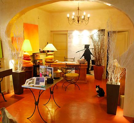 Notre boutique Show Room à Buis les Baronnies